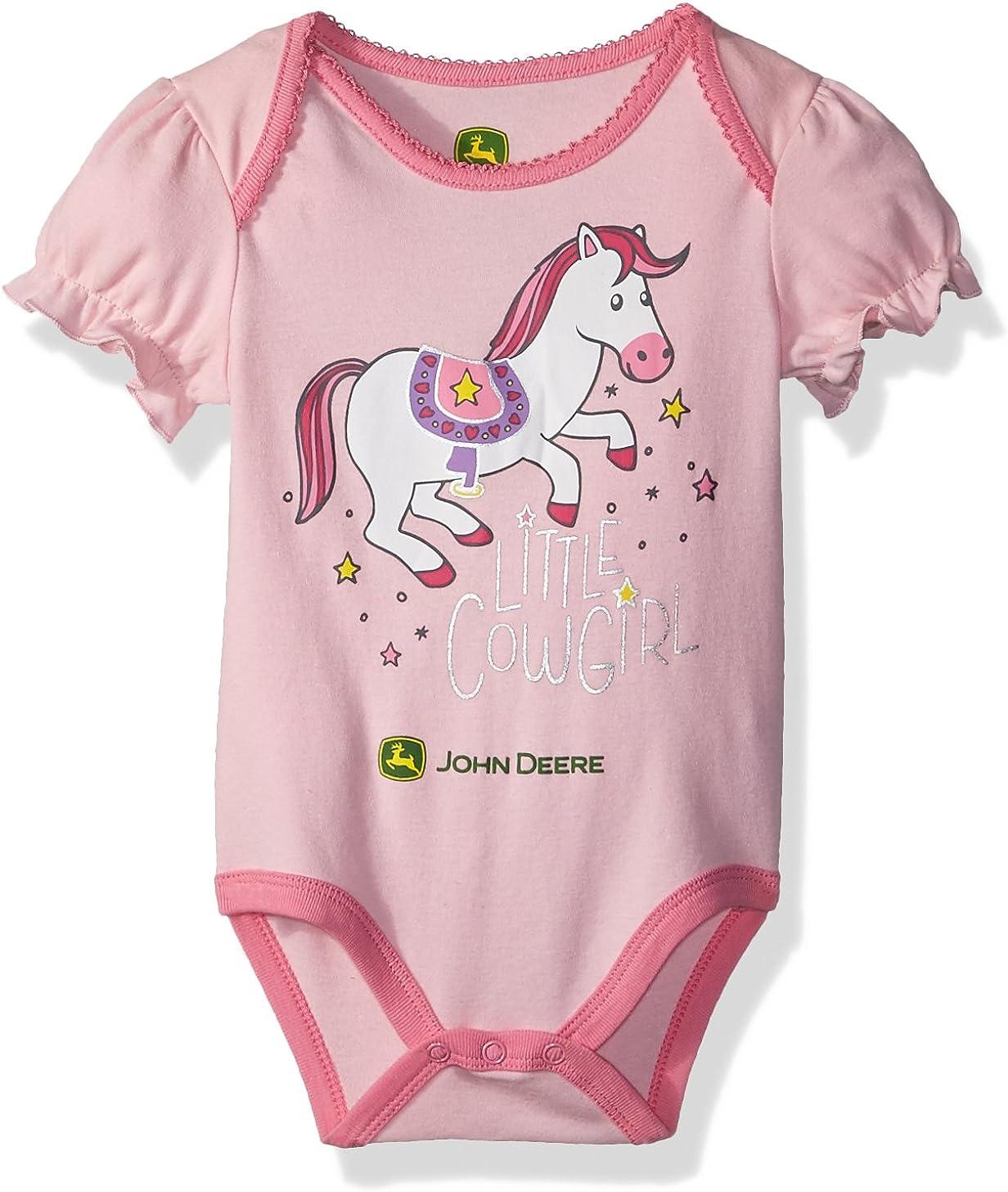 John Deere Baby-Girls Girl Bodyshirt Shirt