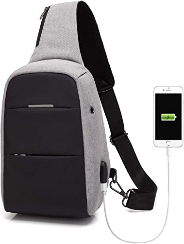 Sling Bag Anti-theft Causal Daypacks Crossbody Backpack For Men Women Waterproof Shoulder Bag