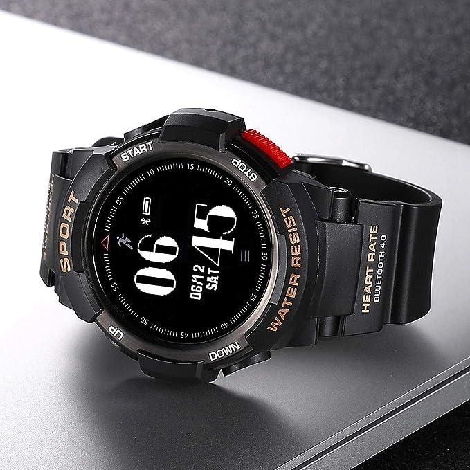 Mugast - Pulsera Inteligente, Pantalla OLED Smart Watch con Varios ...