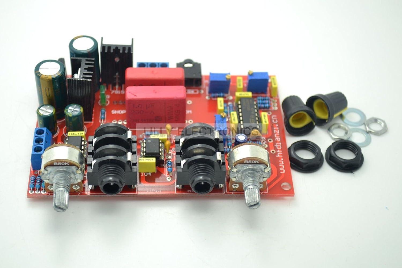 Kara Ok Microphone Board with Preamplifier+ne5532 Zoom Microphone 12-15v