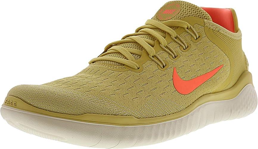 Nike Free RN 2018, Zapatillas de Running para Mujer, Amarillo (Gelb Gelb), 44 EU: Amazon.es: Zapatos y complementos
