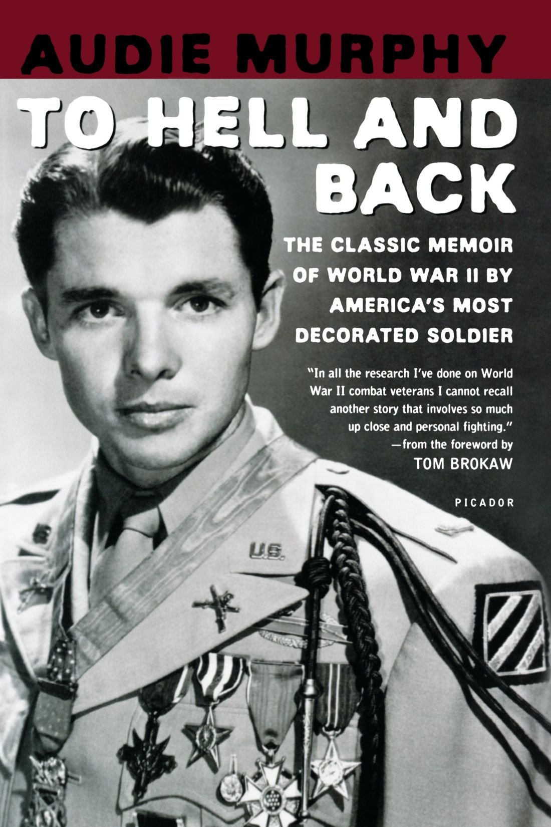 Amazoncom To Hell And Back Audie Murphy Books - Audie