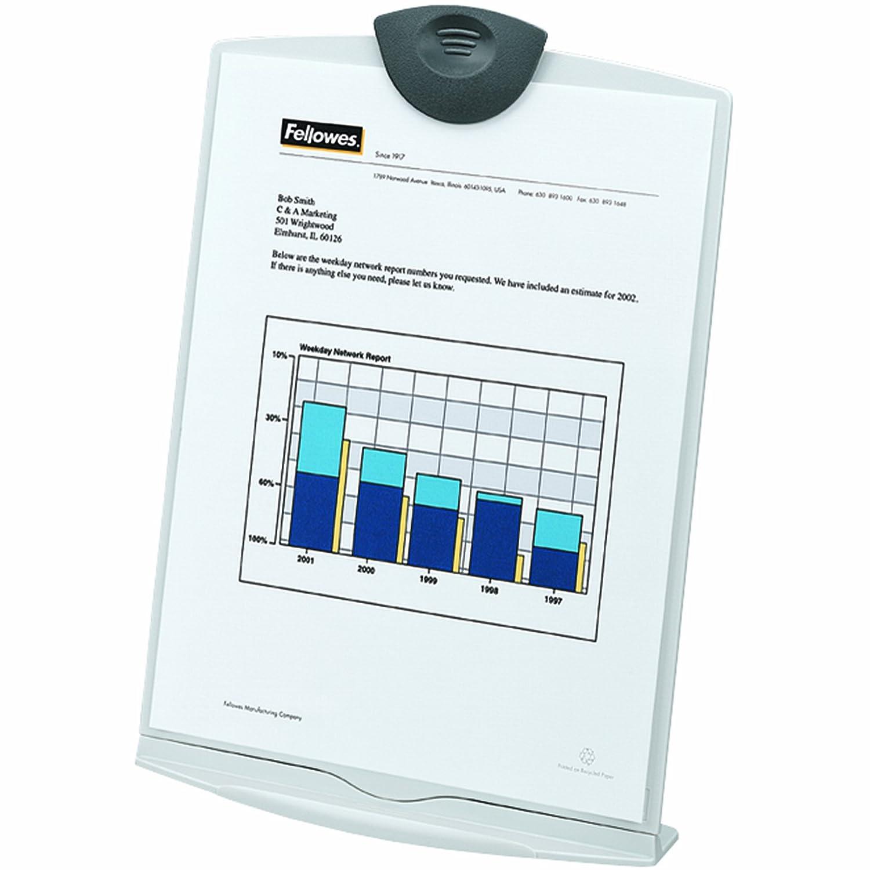 Fellowes Konzepthalter hält bis zu 150 Blatt platingrau: Amazon.de ...