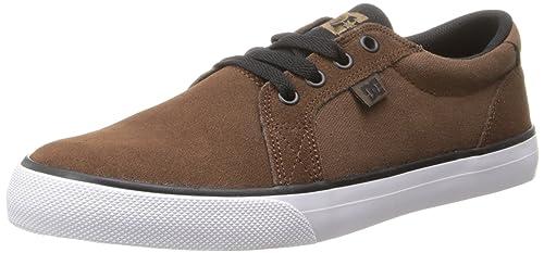 DC Shoes Council SD - Zapatillas Bajas para Hombre, Marrón Oscuro (Dark Brown), 47