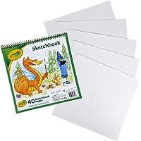 "Crayola Sketchbook 9""X9"", Coloring & Drawing Supplies, 40 Sheets"
