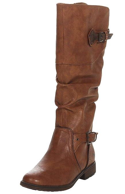e59dfd622be6 Mustang Women s Boots Brown Braun (Kastanie 301)  Amazon.co.uk ...