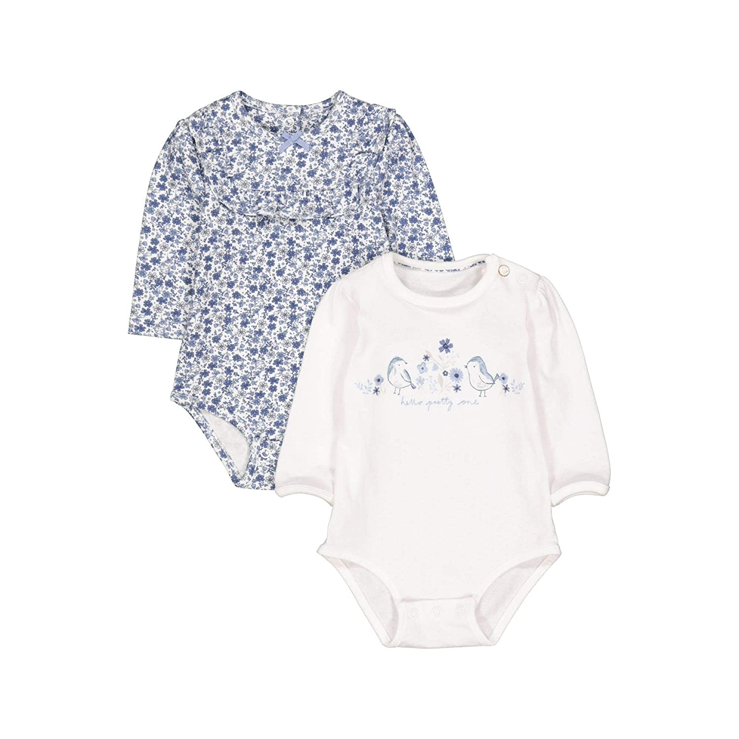 Mothercare Baby Girls' Longsleeve T-Shirt QD656
