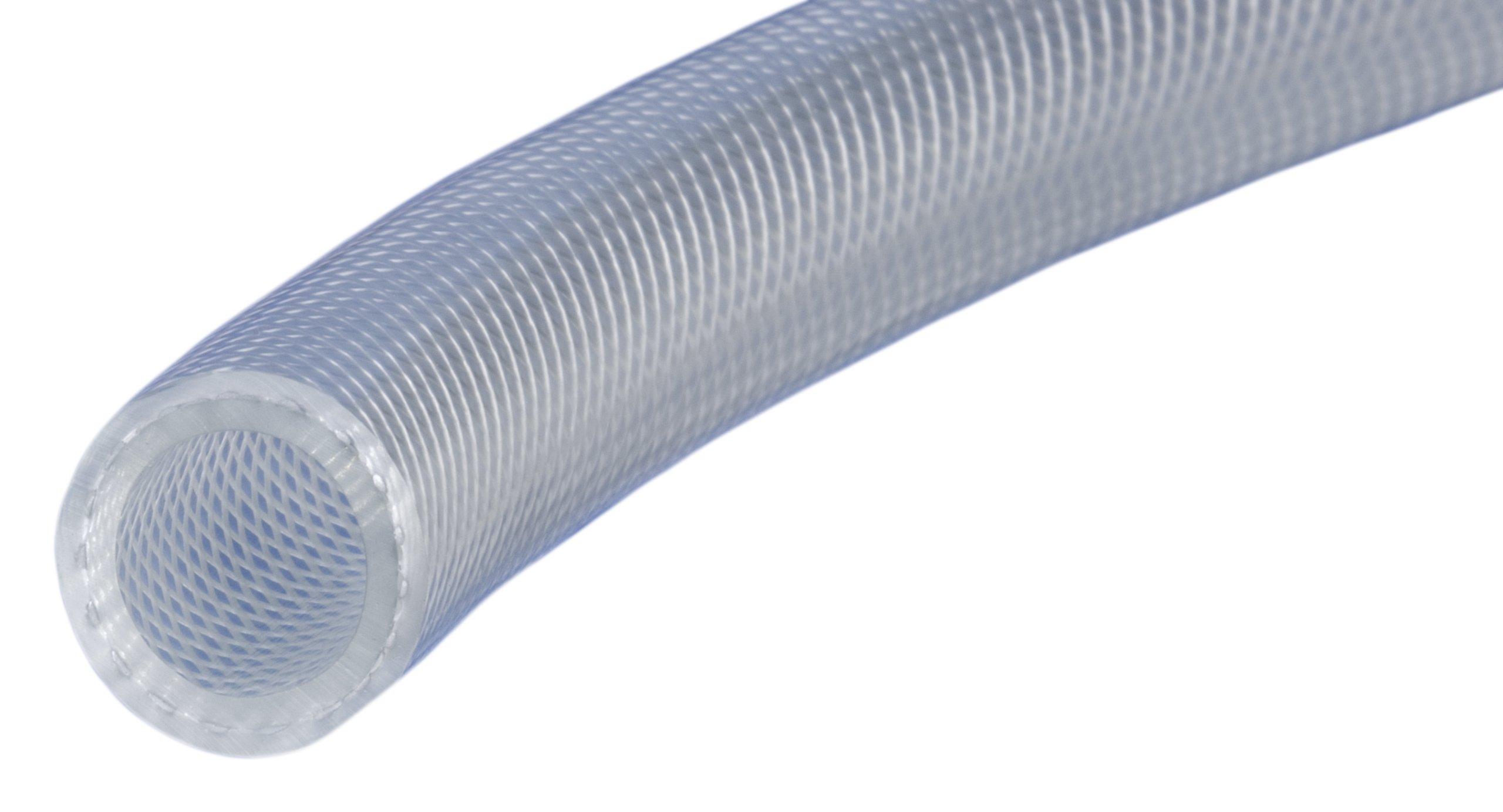 Kuriyama Kuri Tec K3280 Series PVC Flexible Connection Hose, 180 psi, 500' Length x 0.260'' ID, Clear