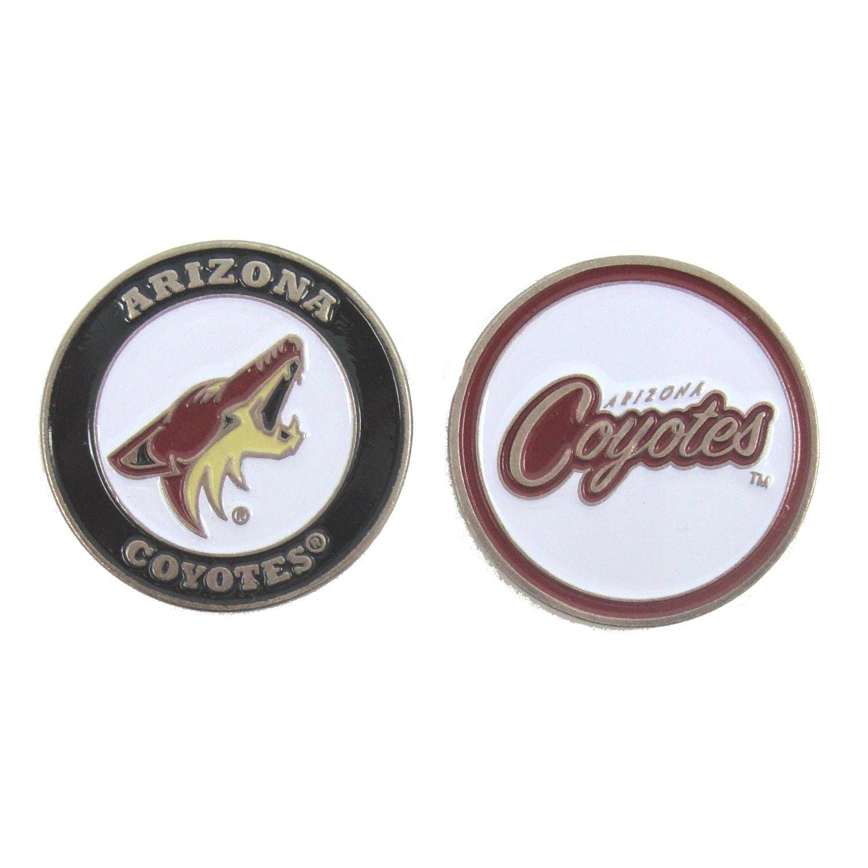 Arizona Coyotesゴルフボールマーカー(両面)   B0782C4W55