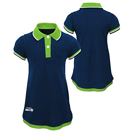 7ce0a6ca Amazon.com : Outerstuff Seattle Seahawks NFL Lil Cheer Coach Toddler ...