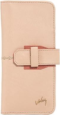Velez Women Cute Travel Genuine Leather Passport Holder Wallet Case Porta Pasaporte Mujer Colored U