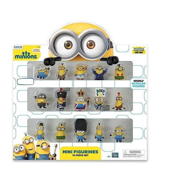 Minions Movie Mini figuras de 15 piezas: Amazon.es: Juguetes y juegos