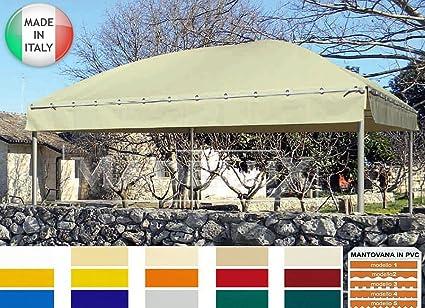 Carpa pagoda 3 x 3 m Modelo Gold profesional Certificado PVC 650 g Cubierta Bar Restaurante excrementos Quiosco: Amazon.es: Coche y moto