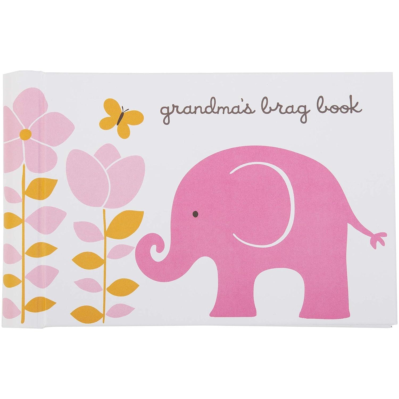C.R. Gibson Baby Elephant Grandma's Brag Book Photo Album, 7.25' x 4.5' 7.25 x 4.5 C.R. Gibson - Baby BP74-10218