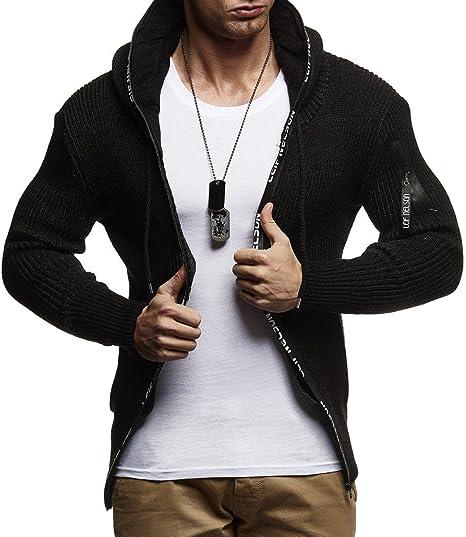 Leif Nelson Longsleeve Zip Sweatshirt Pullover Zipper Print Look