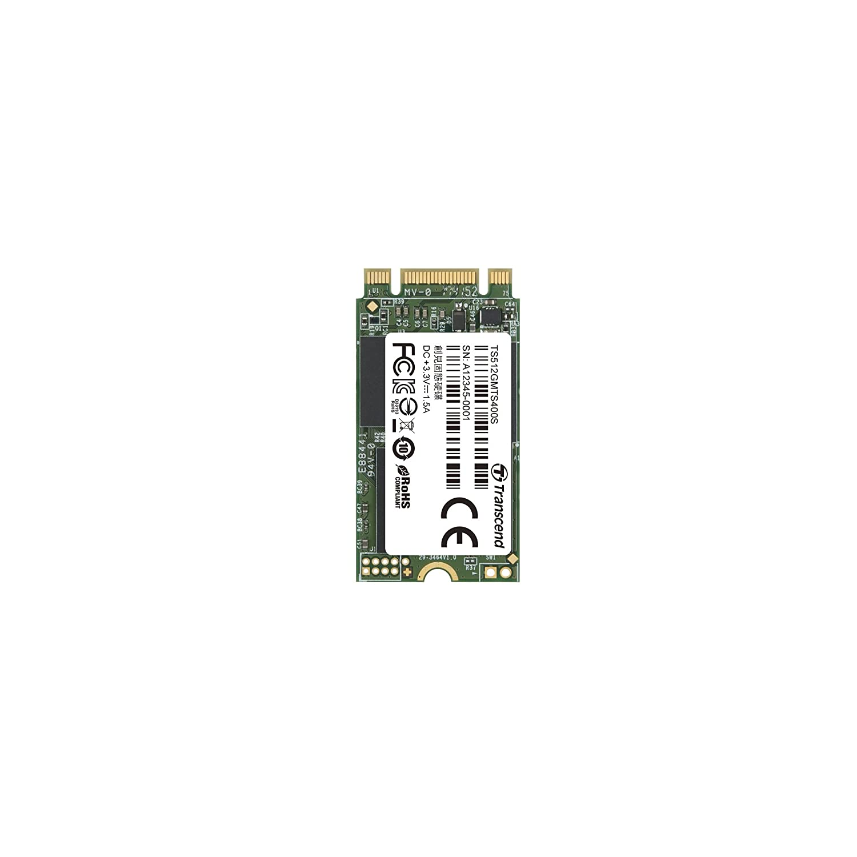 Transcend 256GB SATA III 6Gb/s MTS400 42 mm M.2 SSD Solid State Drive (TS256GMTS400S)