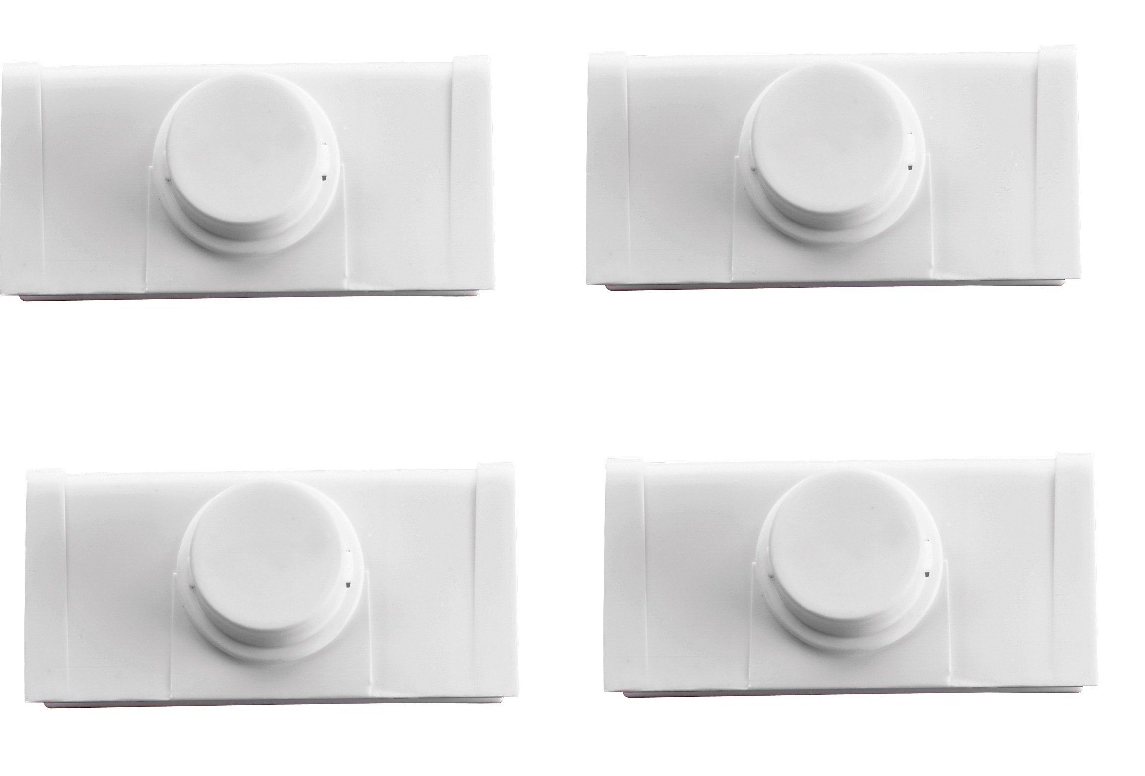 Safety 1st Bi-Fold Door Lock, 4 Count