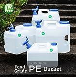 10Liter/15Liter/18Liter/23Liter Wasser Behälter BPA-FREI FDA genehmigt PE-Kunststoff Doppel-Griff-Design Krug für Picknick Camping Outdoor