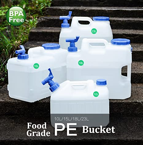 90 Points 10 litros/15 litros/18 litros/23 litros Recipiente para Agua