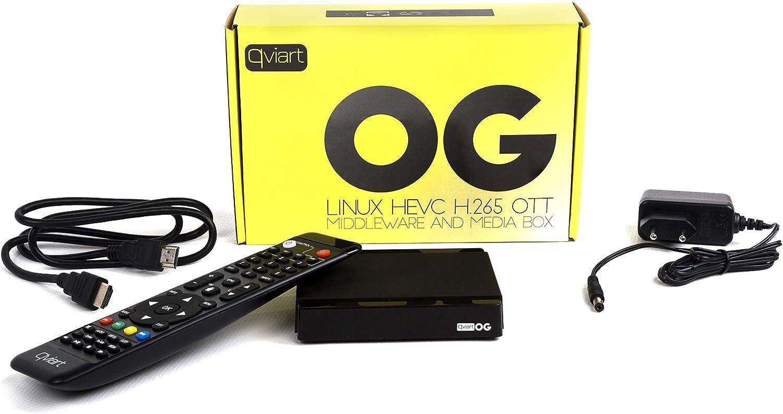 Qviart OG Receptor Streaming Linux LAN Ott Ultra Rápido Full ...