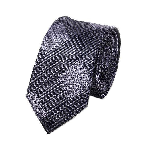 1a7ff7c3519a Men's Black Grey Dots Silk Cravat Stylish Casual Dress Party Suit Ties Gifts