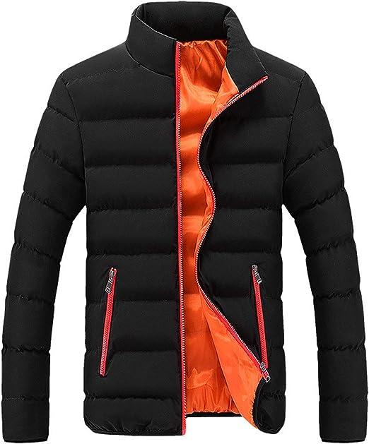 [Meilaifushi] カラー ダウン オシャレ ジャケット インナーカラー ジップアップ 防寒 冬 メンズ アウトドア 若者 アウトドア 冬 自転車 通学 通勤 登山 作業