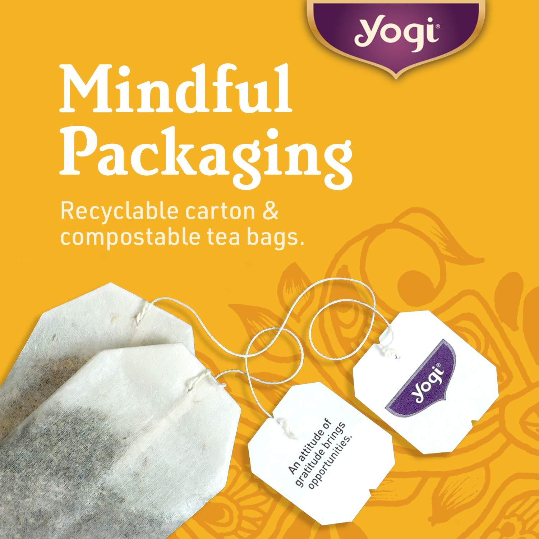 Yogi Tea - Honey Chai Turmeric Vitality - Supports Overall Health - 6 Pack, 96 Tea Bags Total