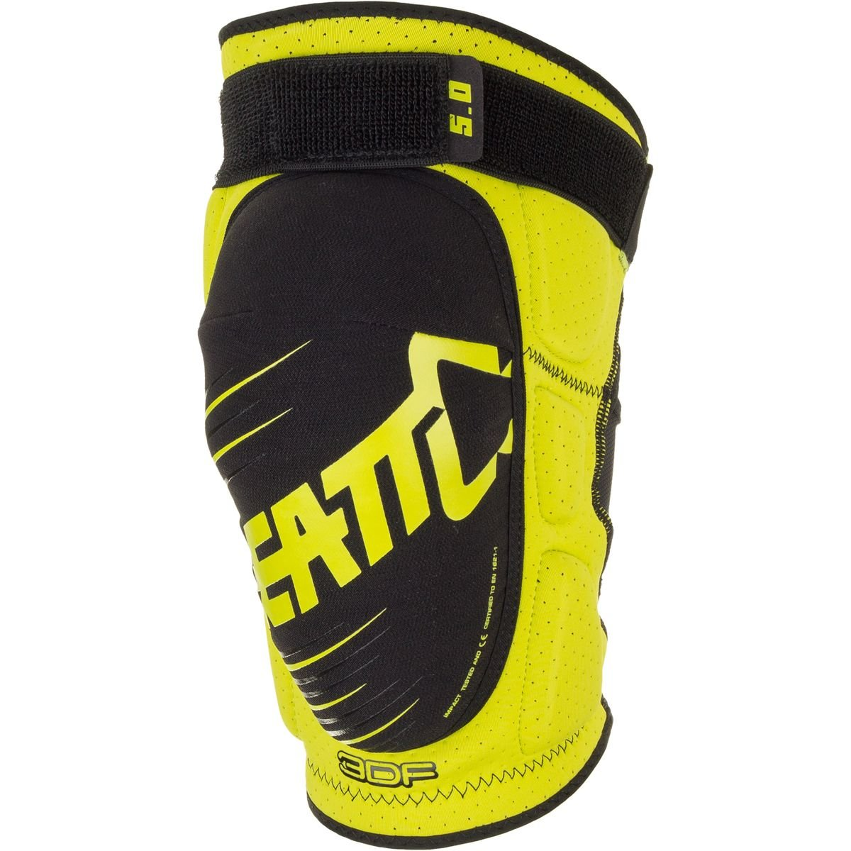 Leatt 3DF 5.0 Knee Guard (Lime/Black, Small/Medium)
