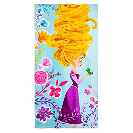 0a794b406d Amazon.com: Disney Rapunzel Beach Towel 427265774277: Home & Kitchen