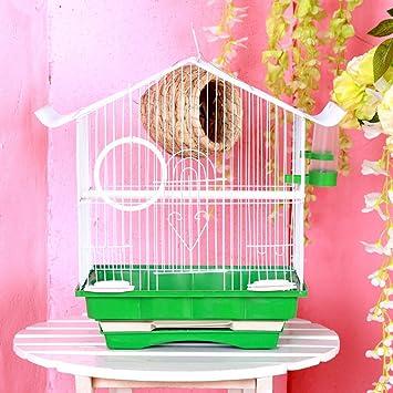 HZX Jaula de pájaros Jaula de pájaros Jaula Jaula de Mascotas ...