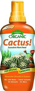 Espoma Cactus! Liquid Plant Food, Natural & Organic Succulent Plant Food, 8 fl oz, Pack of 5