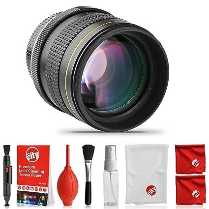 Review Opteka 85mm f/1.8 Full