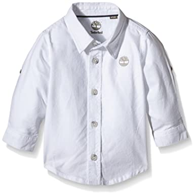 Timberland Chemise Garcon, Bébé, Blanc, FR (Taille Fabricant  3 Ans ... dc40a296b2d
