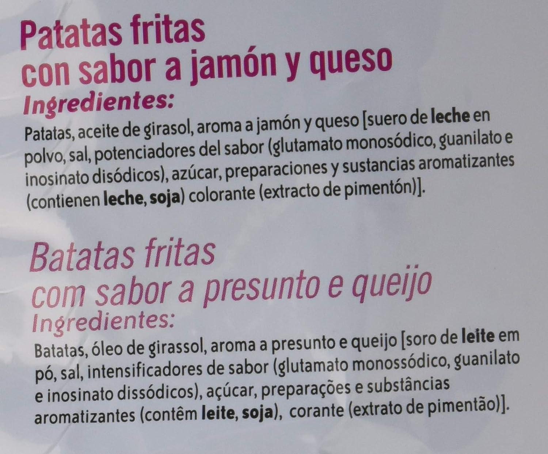 Ruffles Patatas Fritas con Sabor a Jamón y Queso - 170 gr: Amazon.es: Amazon Pantry