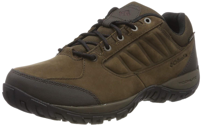 Marron (Cordovan, Madder marron) 44 EU Columbia Ruckel Ridge Plus imperméable, Chaussures de Randonnée Basses Homme