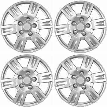 amazon oxgord hubcaps for nissan altima pack of 4 silver 16 2018 Infiniti QX80 Interior oxgord hubcaps for nissan altima pack of 4 wheel covers 16 inch 6 spoke snap on silver