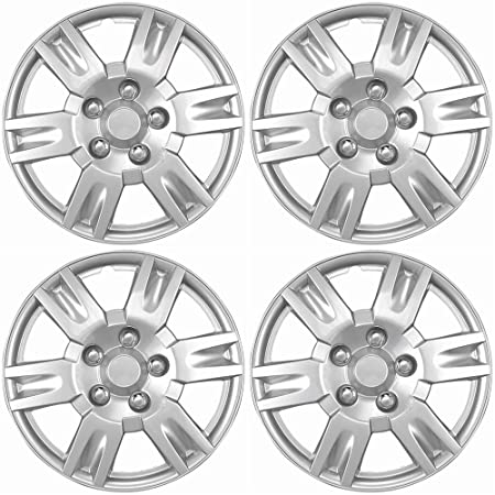 amazon oxgord hubcaps for nissan altima pack of 4 wheel 2007 Nissan Altima Interior amazon oxgord hubcaps for nissan altima pack of 4 wheel covers 16 inch 6 spoke snap on silver automotive