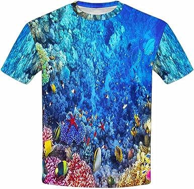 INTERESTPRINT Youth T-Shirts XS-XL