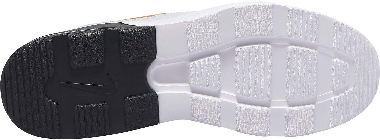 Nike Herren Air Max Motion 2 Laufschuhe, Schwarz, 39_EU Platinum Tint Kumquat Black