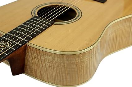 Dove – Guitarra acústica 4/4 I Western Guitarra I Massive Sitka de ...