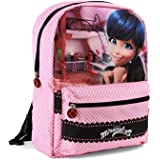 Karactermania Ladybug Transform Mochila infantil reversible, 40 cm, Multicolor