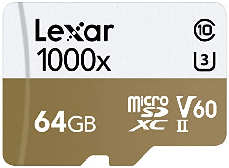 Tarjeta Lexar Professional 1000x 64GB microSDXC UHS-II: Amazon.es ...