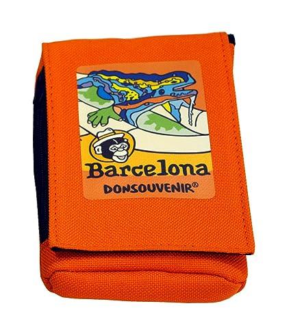 Monedero Barcelona Park GÜELL PORTAMOVIL - Color: Naranja ...