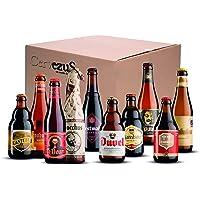 Cervezas Belgas (Pack 10 variedades) - Cerveza Belga - Pack Cervezas Belgas - Cervezas del Mundo Regalo - Pack Cervezas…