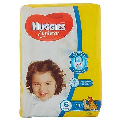 Huggies - Unistar - Pañales - Talla 6 (15-30 kg) - 14