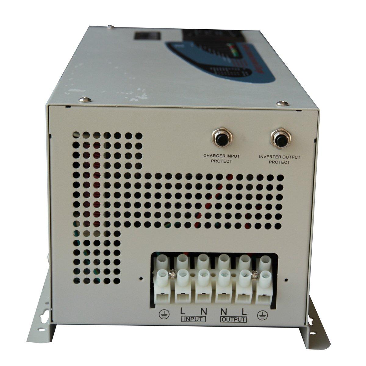 Amazon.com: GTSUN 3000w Peak 9000w Pure Sine Wave Inverter with ...
