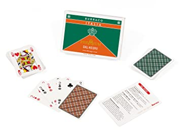 Carte Italie Jeux.Dal Negro 90078 Burraco Italie Cartes De Jeu Amazon Fr