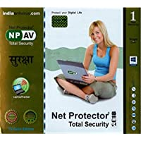 Net Protector Total Security 2018 - 1 PC, 1 Year (CD)