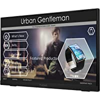 """Planar Helium PCT2235 Touch Screen 22"""" LED LCD Full HD Resolution Monitor with Helium Stand,black"""