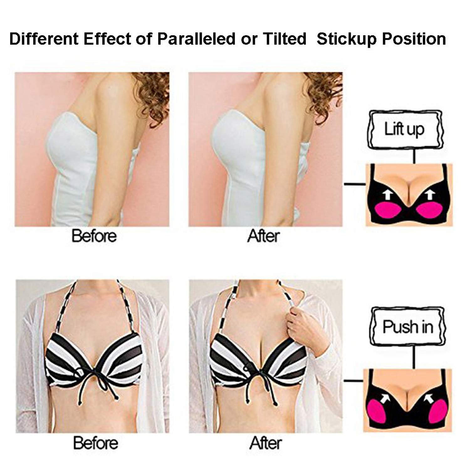 yyuezhi 3 Pairs Bra Pads Bikini Bra Inserts Removable Triangle Foam Pads Bathing Suit Sport Bra Pads Inserts Bust Enhancer Push Up Breast Enhancer Comfortable and Breathable Large size